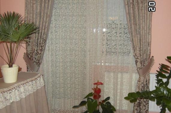 Csipke függöny