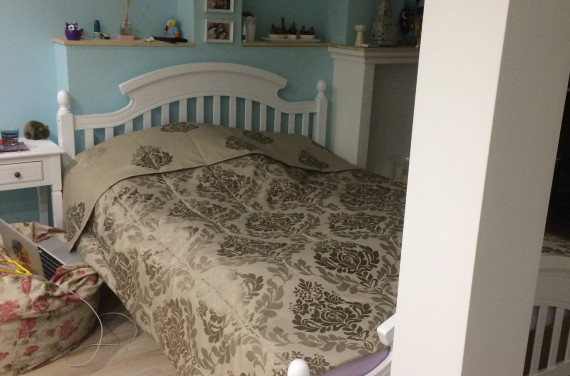 Nagylányos- ágytakaró